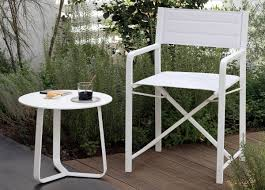 Small Round Patio Side Table by Manutti Rodial Round Side Table Couture Outdoor