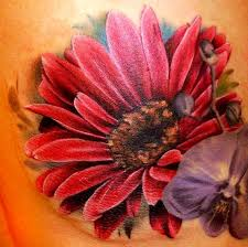 Big Flower Tattoos On - 111 artistic and striking flower tattoos designs