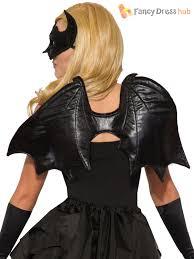 bat accessories ladies halloween vampire mask wings fancy