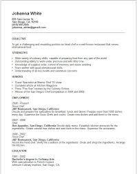 chef job objective examples best 25 career objective examples