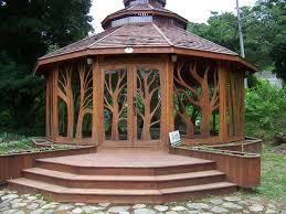 Backyard Gardening Ideas by Best 25 Enclosed Gazebo Ideas On Pinterest Garden Buildings