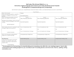 best photos of core curriculum lesson plan template common core