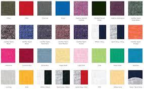 t shirt color chart houston screen print