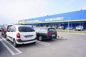 ikea parking lot ikea parking lot editorial stock photo image of store 36696668