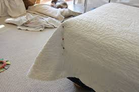How To Make Sofa Covers At Home Pottery Barn Hack Simple Slipcover Ideas Decorating With Quilts