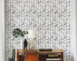 removable wallpaper self adhesive wallpaper herringbone