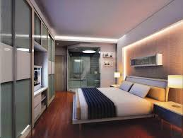 Headboard Wall Unit Appealing Bedroom On Wall Unit With Headboard Light Bridge Mirror