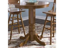 Oak Bistro Table Liberty Furniture Nostalgia Oak Pub Table Novello Home