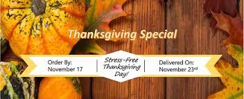 thanksgiving special mizuna catering