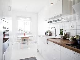 White Kitchen Design by Light And White Scandinavian Kitchen Interior Pinterest