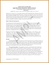 9 executive summary report sample musicre sumed
