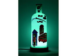 Glass Table Lamp Buy Decorative Glass Lamp Table Lamps Online Hand Painted Lamps