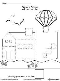 free worksheets shape worksheets for preschool free math