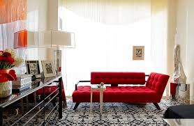 Red Leather Chaise Lounge Chairs The Red Sofa Combines The Classic Chaise Lounge Eva Furniture