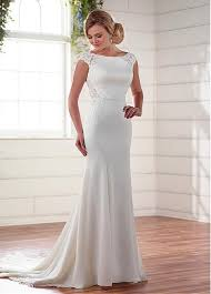 scoop neck lace wedding dress buy discount glamorous tulle acetate satin scoop neckline