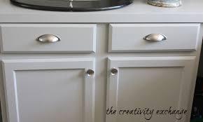 Brushed Nickel Cabinet Pulls Inch Brushed Nickel Arch Cabinet - Brushed nickel kitchen cabinet handles