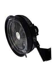 wall mounted rotating fan wall mount oscillating fan mistingpros