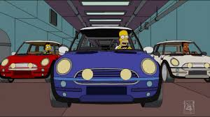 mini cooper simpsons wiki fandom powered by wikia