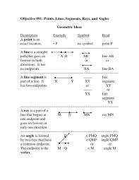 lines rays and angles worksheets worksheets