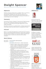 Linux Administrator Resume 1 Year Experience Download Linux System Engineer Sample Resume