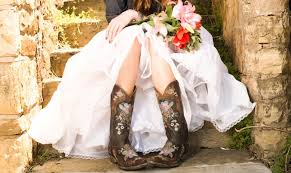 wedding dress cowboy boots cowboy boots and cowboy brides one country