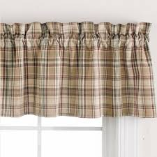 country valance curtains sunflower check lined valance 58