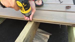 azek timbertech conceal loc easy install on composite or pvc deck