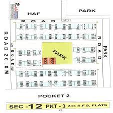 map of indraprastha apartments sector 12 pocket 3 dwarka new delhi