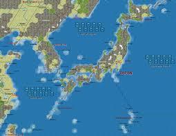 Sea Of Japan Map Japan Map