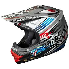 Troy Lee Designs Air P 51 Matte Grey Helmet Jetski Pinterest