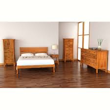 Contemporary Craftsman Platform Bed Vermont Woods Studio - Elegant non toxic bedroom furniture residence