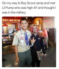 Boy Scout Memes - dopl3r com memes on my way to boy scout c and met lil pump