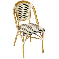 patio chair aluminum bamboo chair for patio