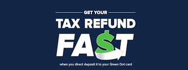 direct deposit card tax refund direct deposit green dot prepaid cards
