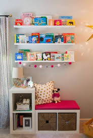ikea hack bench bookshelf pink and gold twinkle little star 1st birthday party ikea hack