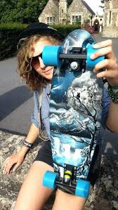 how to make an old skateboard into a mini cruiser spray paint