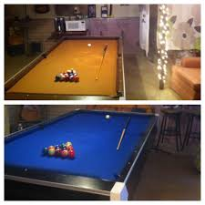 How Much To Refelt A Pool Table by Diy Pool Table Remodel Used Pool Table 20 New Felt 80 New