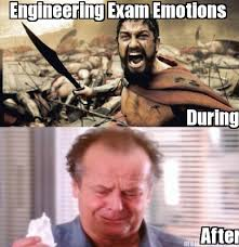 Funny Engineering Memes - meme maker engineering exam emotions during after