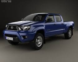 Toyota Tacoma Double Cab Long Bed Toyota Tacoma Double Cab Short Bed 2012 3d Model Hum3d