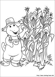 barney halloween coloring pages cartoon download free