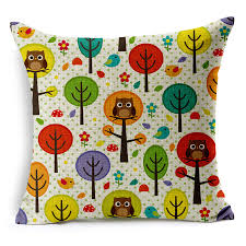 pillow cushion for 1pc tx44 thick texture animal owl lovers with