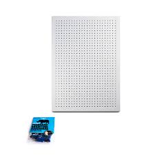Pegboard Deluxe Pegboard Panel Kit Functionaire Locking Pegboard Hooks