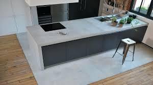 plan de travail cuisine effet beton plan de travail cuisine effet beton b ton cir plan de travail