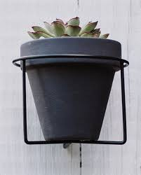 serene succulent planter with metal wall hanger pack 12