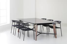 Black Meeting Table Teton Meeting Table