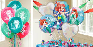 large birthday balloons mermaid ariel balloons party city
