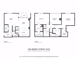 san francisco floor plans 325 berry street 110 san francisco ca 94158 intero real