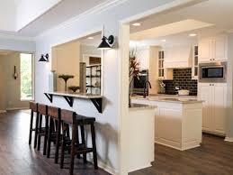 cuisine avec bar am icain cuisine avec bar ouvert sur salon idee couleur cuisine ouverte
