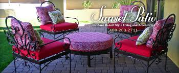 sunset patio fabric swatches resort style patio furniture
