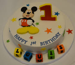 1st birthday cake mickey mouse 1st birthday cake celebration cakes cakeology